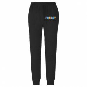 Męskie spodnie lekkie Funday