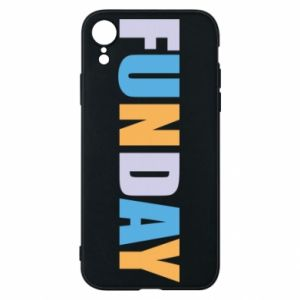 Etui na iPhone XR Funday