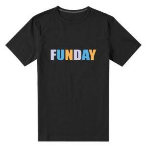 Męska premium koszulka Funday