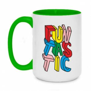 Two-toned mug 450ml Funtastic