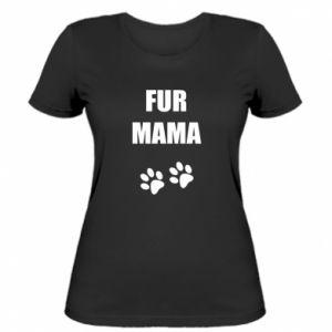 Damska koszulka Fur mama
