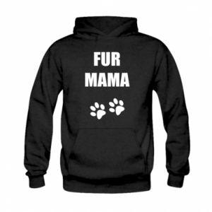 Bluza z kapturem dziecięca Fur mama