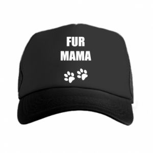 Czapka trucker Fur mama