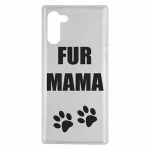 Etui na Samsung Note 10 Fur mama