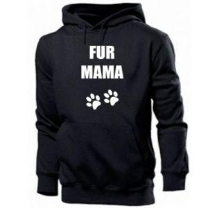 Męska bluza z kapturem Fur mama