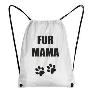 Plecak-worek Fur mama