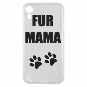 Etui na iPhone XR Fur mama