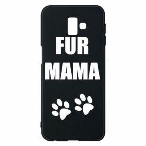 Etui na Samsung J6 Plus 2018 Fur mama