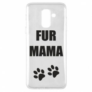 Etui na Samsung A6+ 2018 Fur mama
