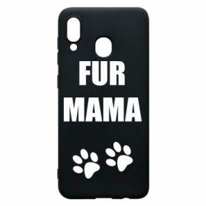 Etui na Samsung A20 Fur mama