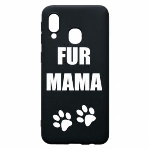 Etui na Samsung A40 Fur mama