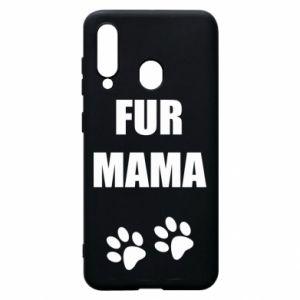 Etui na Samsung A60 Fur mama