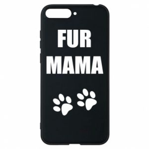 Etui na Huawei Y6 2018 Fur mama