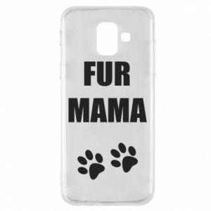 Etui na Samsung A6 2018 Fur mama