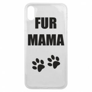 Etui na iPhone Xs Max Fur mama