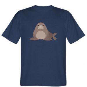 T-shirt Fur seal - PrintSalon