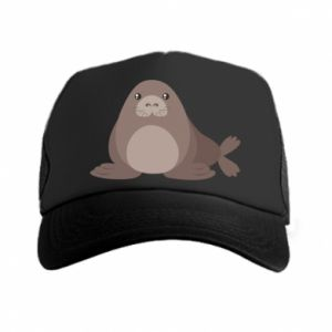 Trucker hat Fur seal