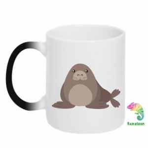 Chameleon mugs Fur seal