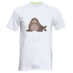 Men's sports t-shirt Fur seal