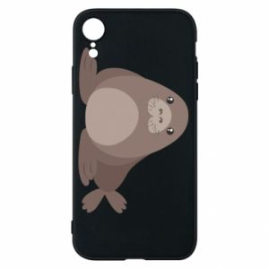 Phone case for iPhone XR Fur seal