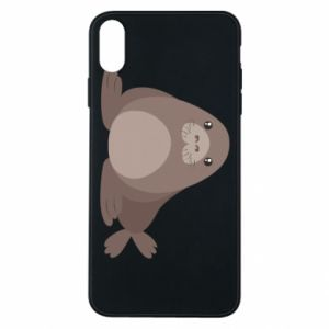 Phone case for iPhone Xs Max Fur seal