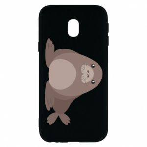 Phone case for Samsung J3 2017 Fur seal
