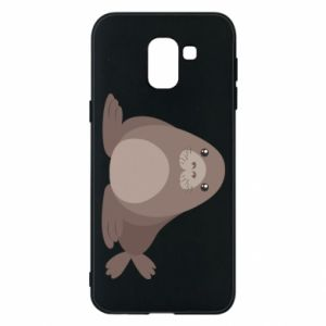 Phone case for Samsung J6 Fur seal