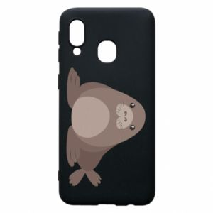 Phone case for Samsung A40 Fur seal