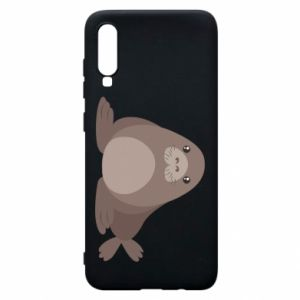 Phone case for Samsung A70 Fur seal