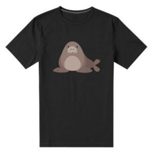 Men's premium t-shirt Fur seal