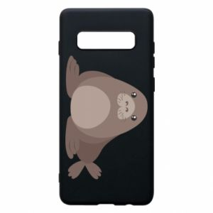 Phone case for Samsung S10+ Fur seal
