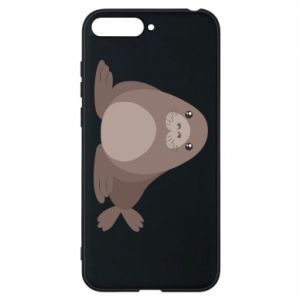 Phone case for Huawei Y6 2018 Fur seal