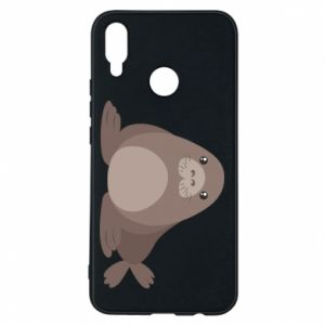 Phone case for Huawei P Smart Plus Fur seal