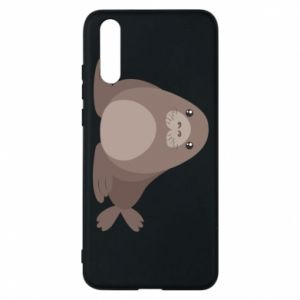 Phone case for Huawei P20 Fur seal