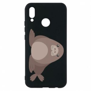 Phone case for Huawei P20 Lite Fur seal