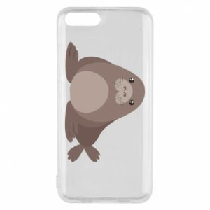 Phone case for Xiaomi Mi6 Fur seal