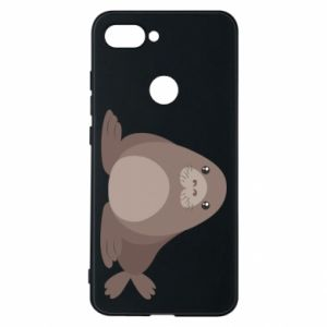 Phone case for Xiaomi Mi8 Lite Fur seal