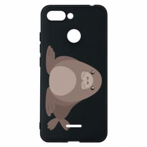 Phone case for Xiaomi Redmi 6 Fur seal