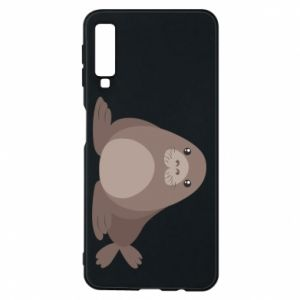 Phone case for Samsung A7 2018 Fur seal