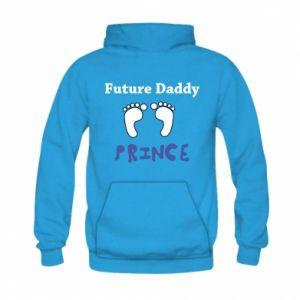 Bluza z kapturem dziecięca Future  dad prince