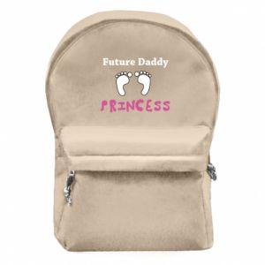 Plecak z przednią kieszenią Future  dad princess