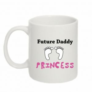 Kubek 330ml Future  dad princess