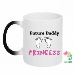 Kubek-magiczny Future  dad princess
