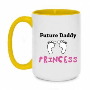 Kubek dwukolorowy 450ml Future  dad princess