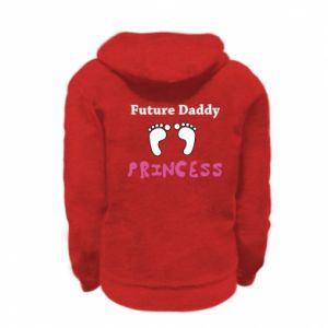 Bluza na zamek dziecięca Future  dad princess