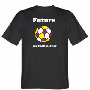 T-shirt Future football player - PrintSalon
