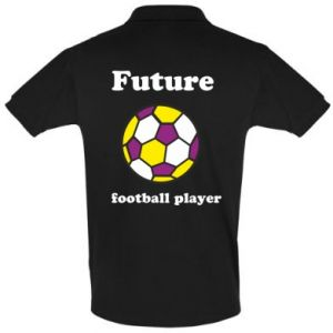 Men's Polo shirt Future football player - PrintSalon