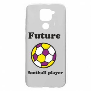 Etui na Xiaomi Redmi Note 9/Redmi 10X Future football player