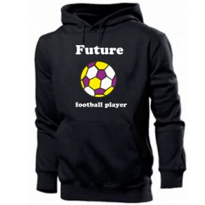Men's hoodie Future football player - PrintSalon