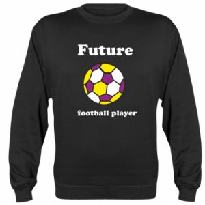 Sweatshirt Future football player - PrintSalon